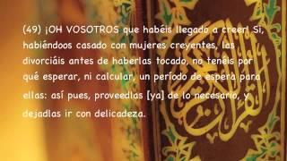 Sura Al¬Ahzab, Subtítulos Español, Abdallah Matroud