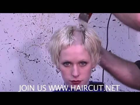 BLONDE BEAUTY RIGHT DOWN THE MIDDLE HIGH ANXIETY HAIRCUT DVD 185 NOW SHOWING ON THE SUB