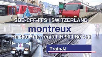 Gare de Montreux Switzerland | Re460 | IR90 | SBB-CFF-FFS | Werbeloks COOP - SBB