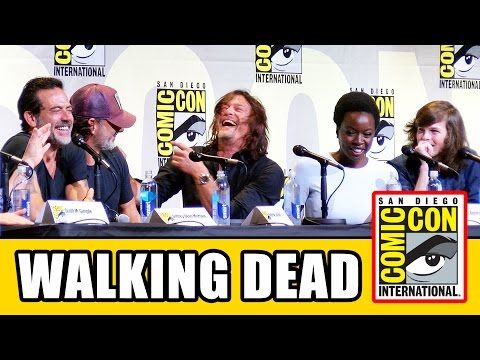THE WALKING DEAD Comic Con 2016 Panel Highlights Pt1 - Norman Reedus, Andrew Lincoln, Chandler Riggs