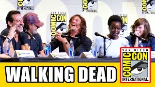 Video THE WALKING DEAD Comic Con 2016 Panel Highlights Part 1 - Norman Reedus, Andrew Lincoln download MP3, 3GP, MP4, WEBM, AVI, FLV Maret 2017