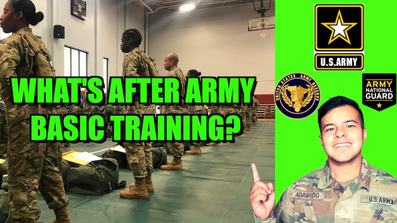 What happens after basic training