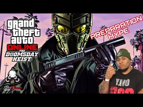 "GTA 5| MAKING MILLIONS | ""THE DOOMS DAY HEIST ON TUESDAY"" PREPARATION STREAM (SUB HERE) GRIND TO 14K"