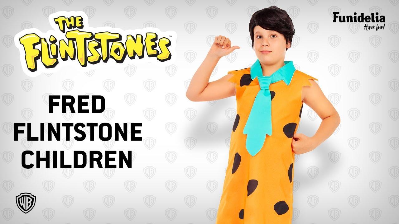 Funidelia fred flintstone costume for boys - the flintstones.funidelia -  officially licensed warner bros