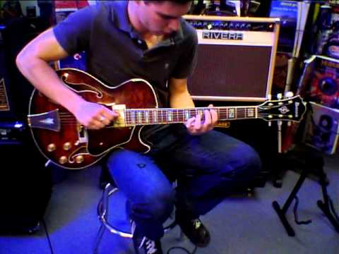 Ibanez Ag95 Dbs Archtop Guitar Demo