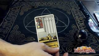 Tarot Card Meanings: The 4 of swords