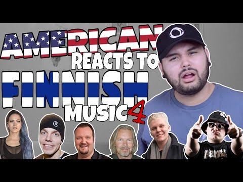 American REACTS  Finnish  4