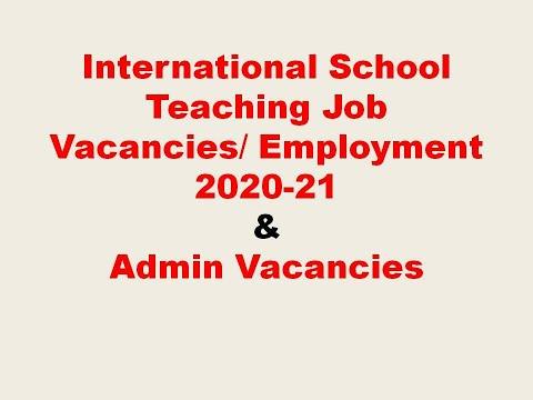 #Overcome International School Teaching Job || Employment Opportunities || How To Apply || 2020-21