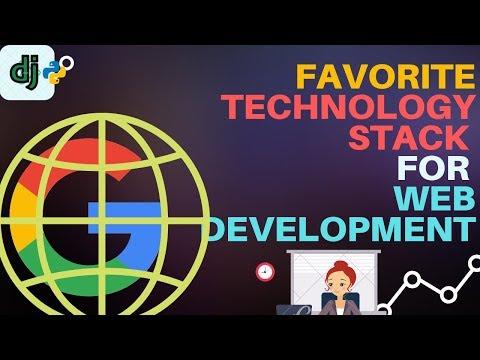 Favorite technology stack for web Development thumbnail