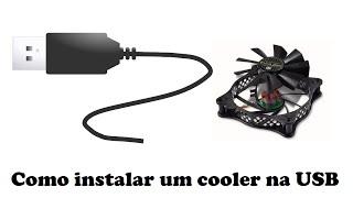 Como instalar um cooler na USB - quais fios do cabo USB usar