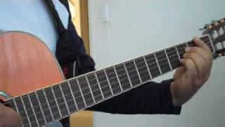 Gole Man Cover with lyrics and chords(Arian Band)گل من