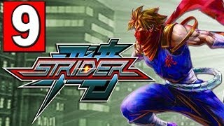 """STRIDER: 2014 Gameplay Walkthrough Part 9 (THE SEWERS) HD XBOX ONE PS4 PC """"STRIDER PS4"""""""
