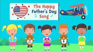 Happy Father's Day Song   USA VERSION   Fathers Day   Simple Kid Songs   Kid Songs