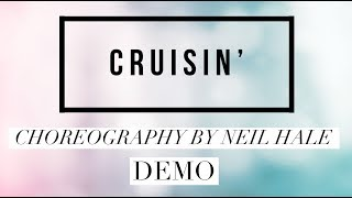Cruisin line dance demo, choreography by Neil Hale