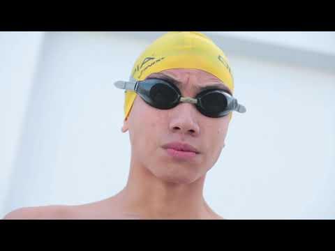 Olympia 's Swimmer Mohamed Yasser Omar