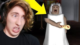 GRANNY IN ROBLOX GAME! HOW TO ESCAPE!? (Roblox Granny Game Horror)