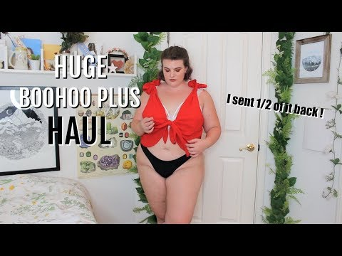 Giant Boohoo Plus Haul