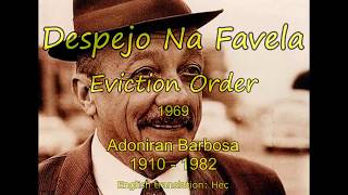 Despejo Na Favela (Eviction Order) - Adoniran Barbosa