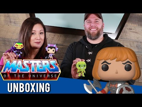 Masters of the Universe Pop! Unboxing!