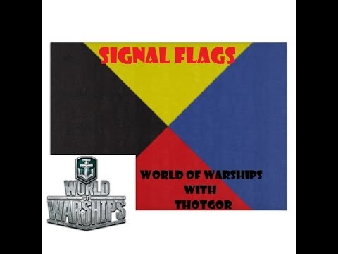 World of Warships- Signal Flags