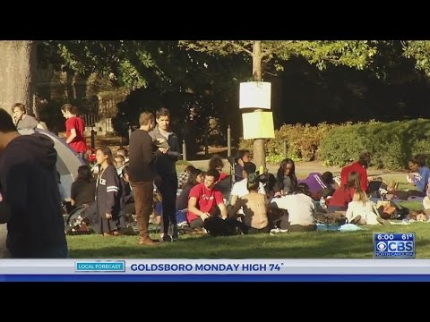 Duke students continue sit-in protest on campus