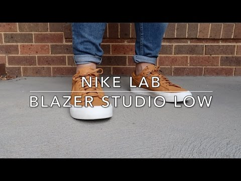 info for 87fdf c5779 D Sneakerz - NikeLab Blazer Studio Low  on Feet