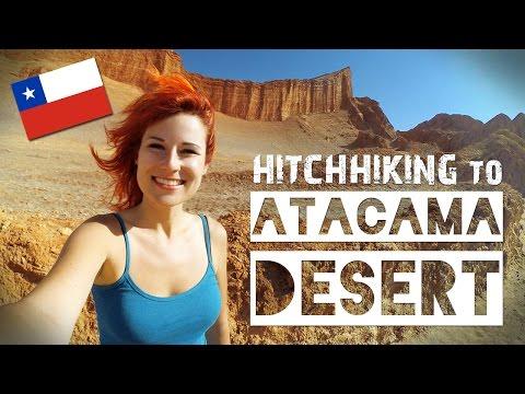 Hitchhiking to ATACAMA Desert | ZuzArt