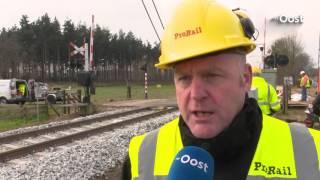 Herstel spoor Dalfsen gaat snel: ProRail verwacht zondag weer treinverkeer
