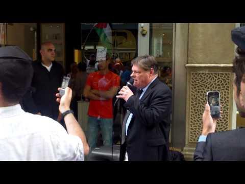 28th July 2014 Kedem speaker David Semple confirms Zionist link to shop