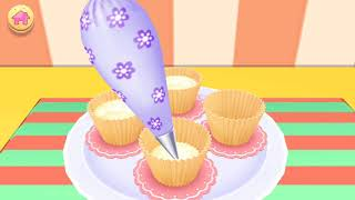 Real Cake Cooking Learn Colors Funny Kid Playing Games for kids!