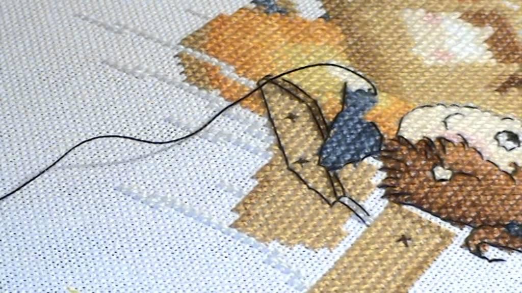 Вышивка когда вышивать бэкстич