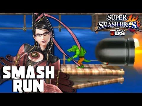Smash Run - Bayonetta Gameplay || Super Smash Bros for 3DS (Smash 3DS Gameplay w/ PKSparkxx)