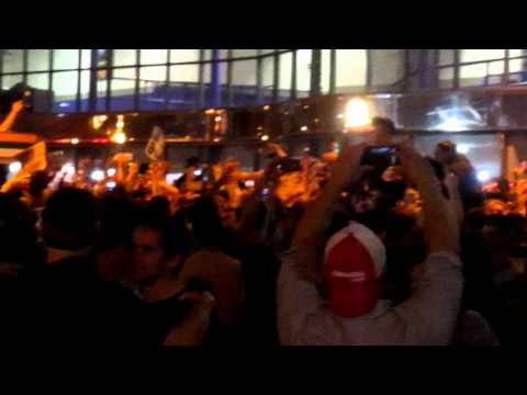 Boston Bruins Fans Celebrating Stanley Cup at Haymarket #1