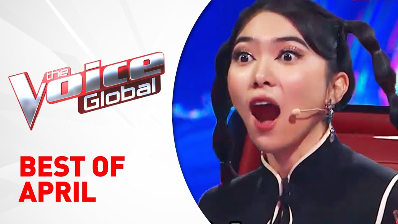 BEST OF APRIL 2021 in The Voice Kids