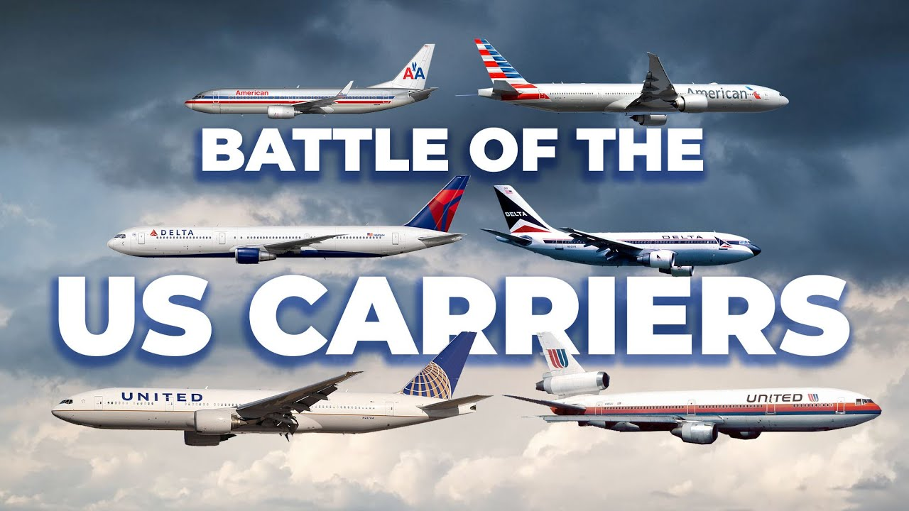 Big 3 Battle: United Airlines vs Delta Airlines vs American Airlines