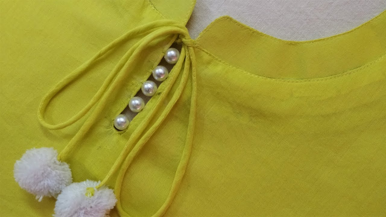 Latest and Easy Neck Design for Kurti/Suit Cutting and Stitching