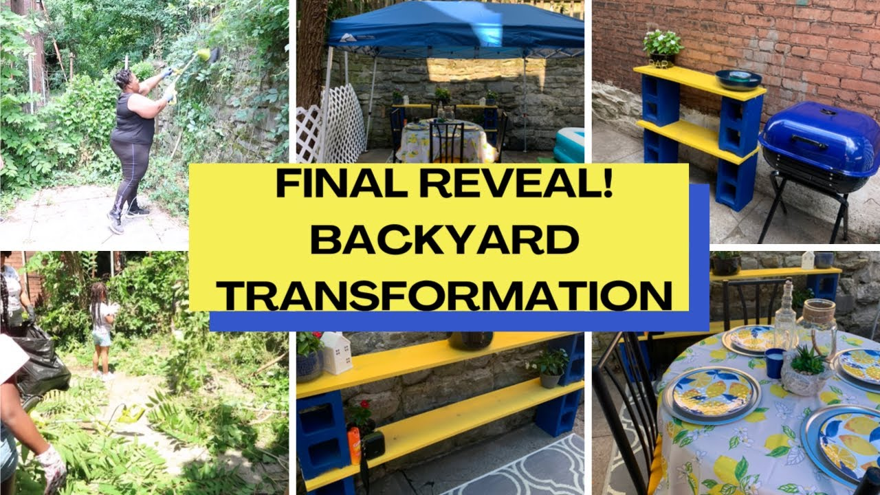 DIY Backyard Makeover on A Budget / Backyard ...
