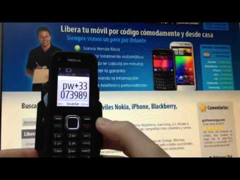 Liberar Nokia C1 02, desbloquear Nokia C1 02 de Vodafone Movical Net