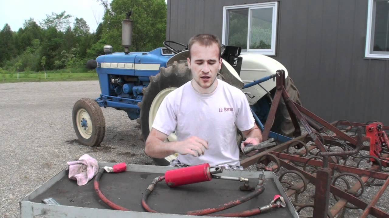 3 Point Hitch Rebuild How To Youtube Ford Hydraulic Diagram