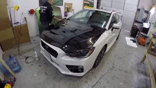 """2015 Subaru WRX Ep. 880: """"ThisGuysDecals"""" Wraps my Hood and Trunk"""