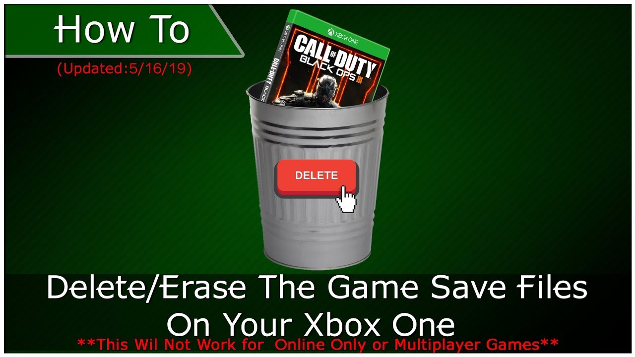 Xbox OneGuide: HOW TO: Delete a Xbox One Game Save (UPDATED)