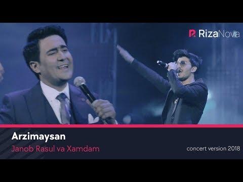 Janob Rasul va Xamdam - Arzimaysan (concert version 2018) #UydaQoling