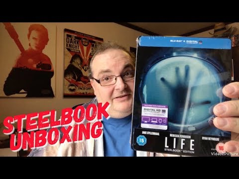 LIFE Blu-ray Steelbook Unboxing with Big Pauly streaming vf