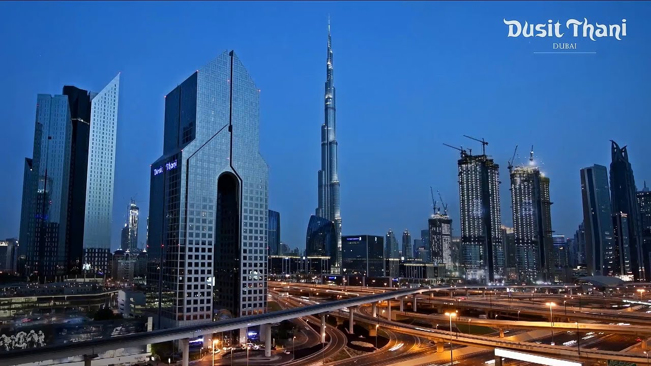 Dusit thani dubai hotel top 5 star dubai hotels in uae for Top five star hotels in dubai