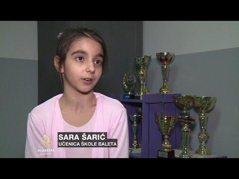 Uspjesi mostarske balerine Sare Šarić