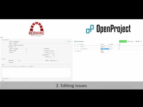 OpenProject vs Redmine - Comparison