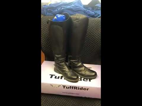 2b1128f2fd7 TuffRider Ladies Plus Rider Dress Boots - YouTube