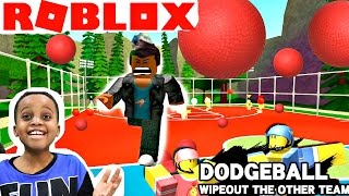DYING 1000 TIMES! - Let's Play Roblox DODGEBALL! - Playonyx
