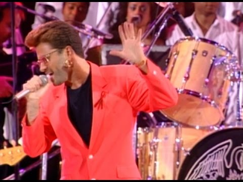 George Michael & Queen  Somebody To Love 1992
