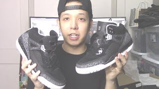 Bought A Pair Of Black/Grey/White Air Jordan Spizike Shoes At Champs :)
